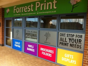 shop sign, fascia sign, signage, commercial signs, pembrokeshire
