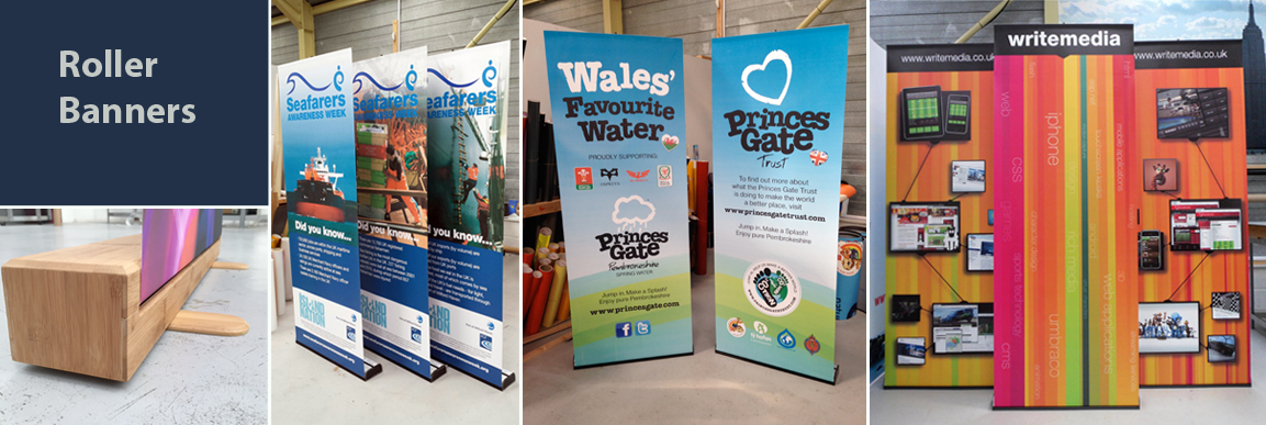 roller banners pembrokeshire
