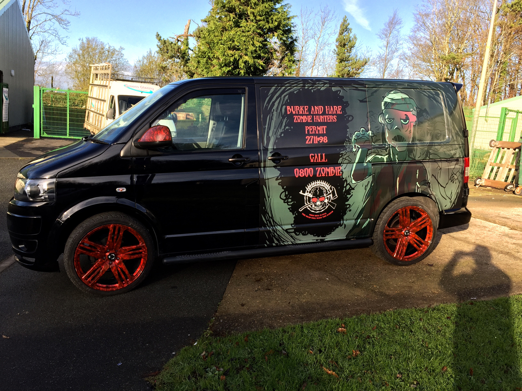 vehicle wraps pembrokeshire