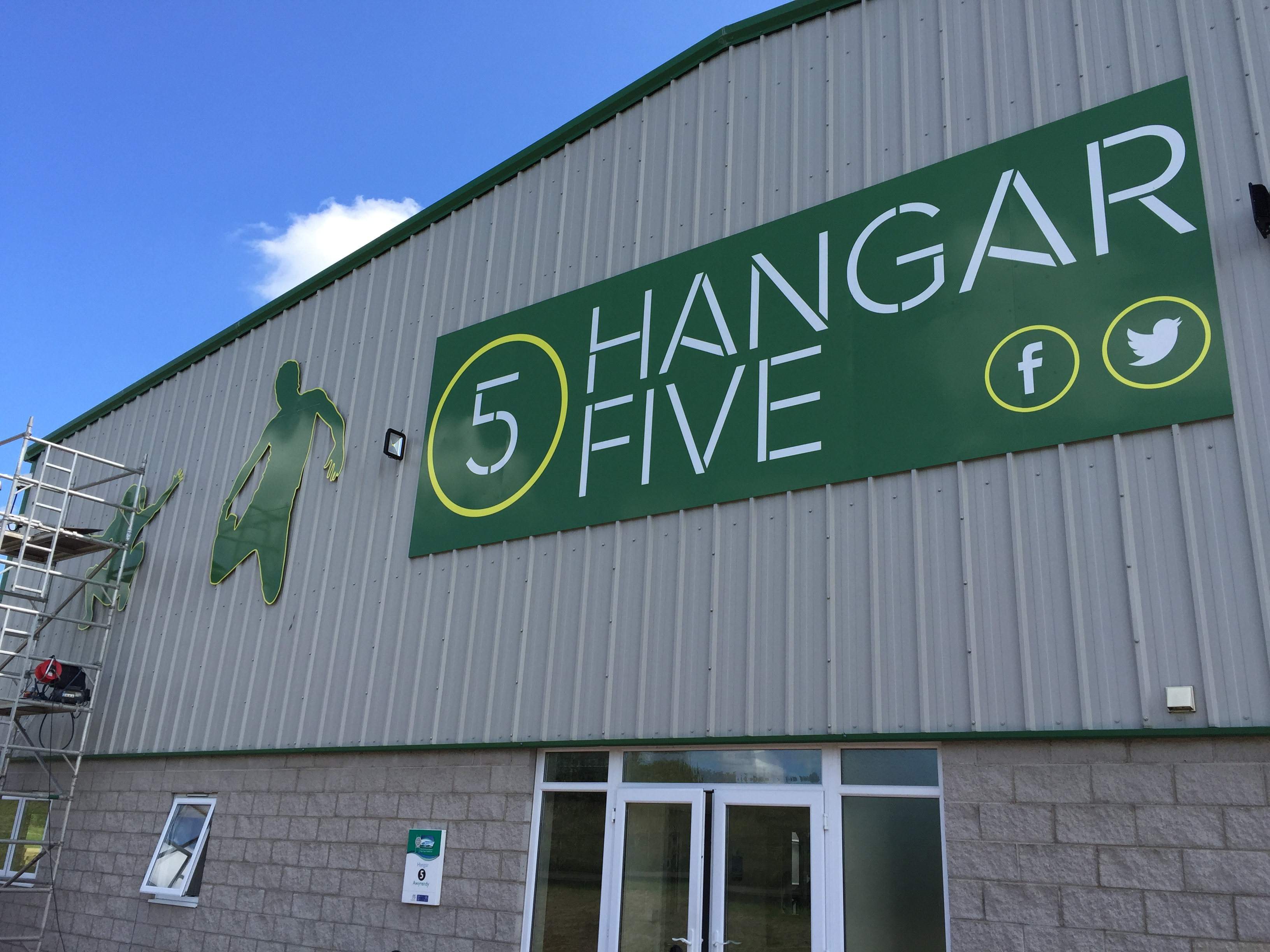 Wales First Indoor Trampoline Park