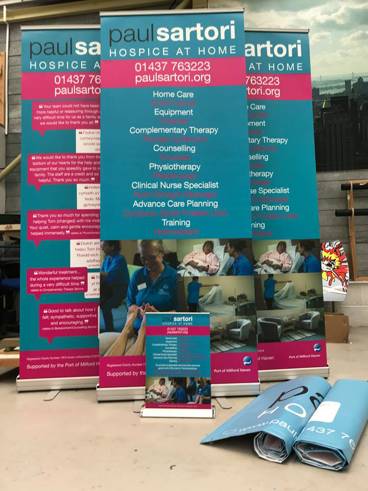 Sigma Roller Banner, Sigma Pembrokeshire
