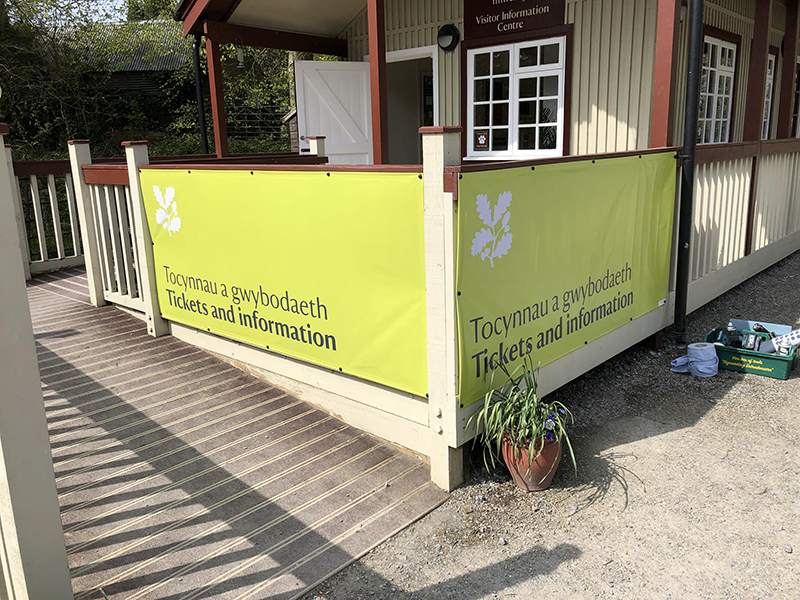 Banners, Pembrokeshire, printed