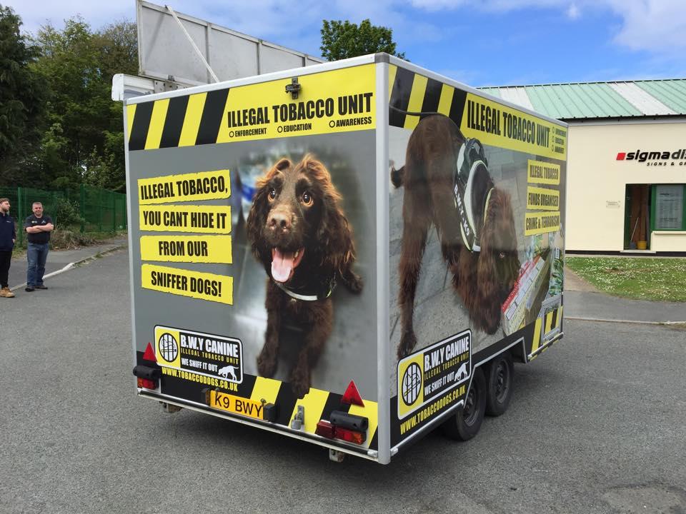 vehicle wraps Wales