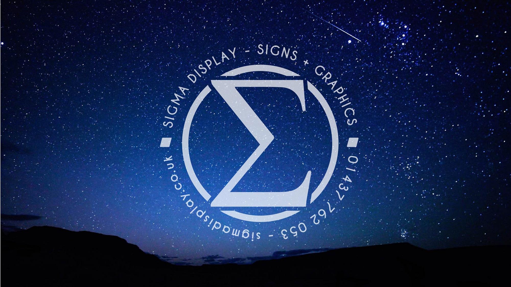 Sigma logo stars