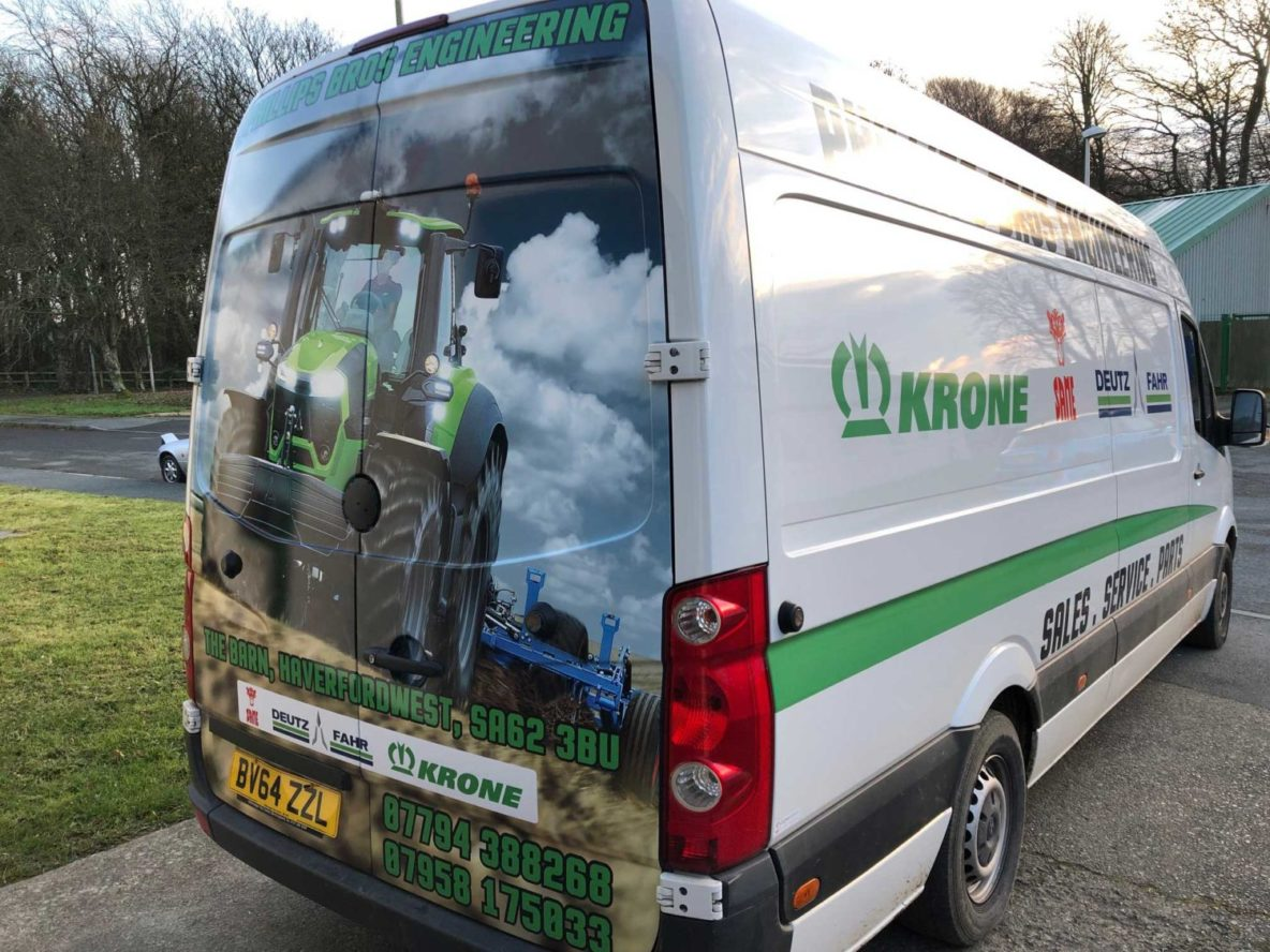 Vehicle Wrapping Pembrokeshire
