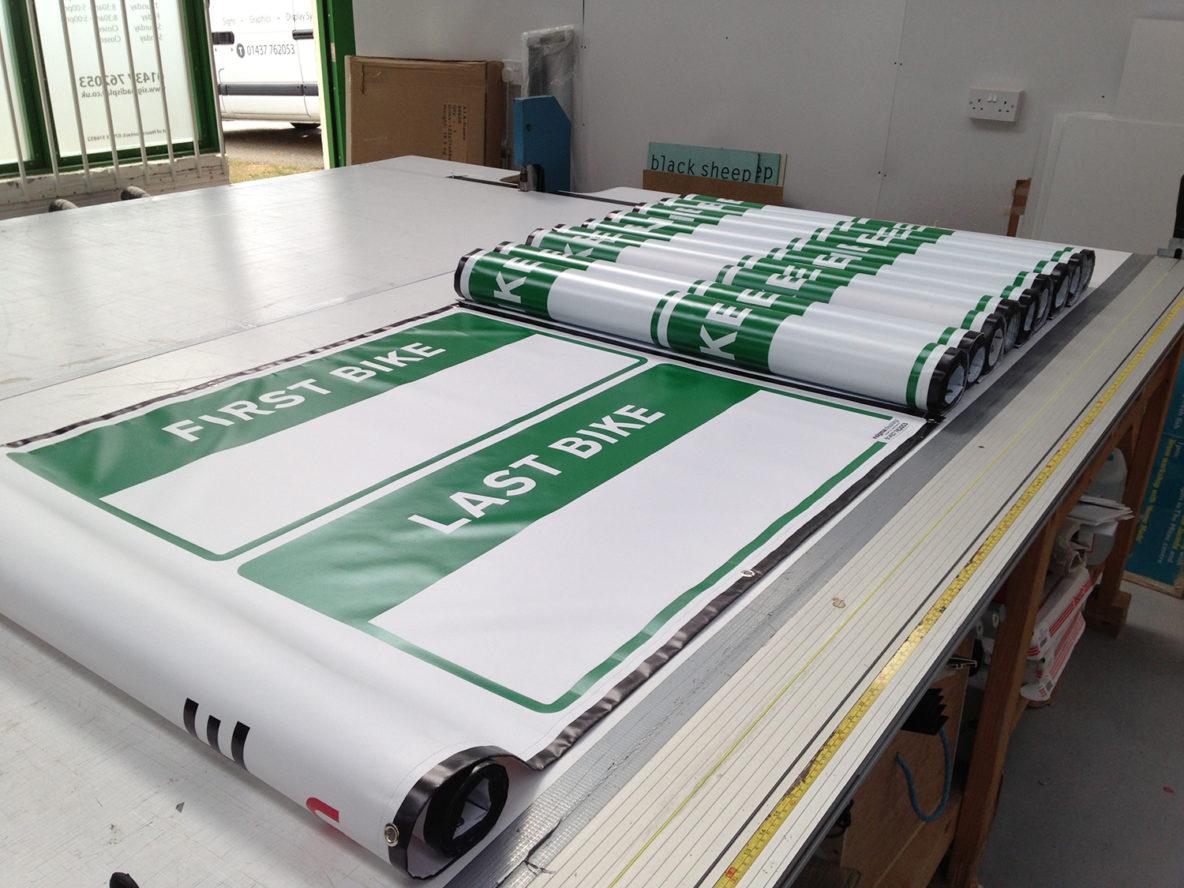 Banner, Printing, UK, PVC, Sigma Dsiplay